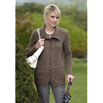462c93453e57fb Stylecraft Life DK Jacket Knitting Pattern 8475  Amazon.co.uk ...