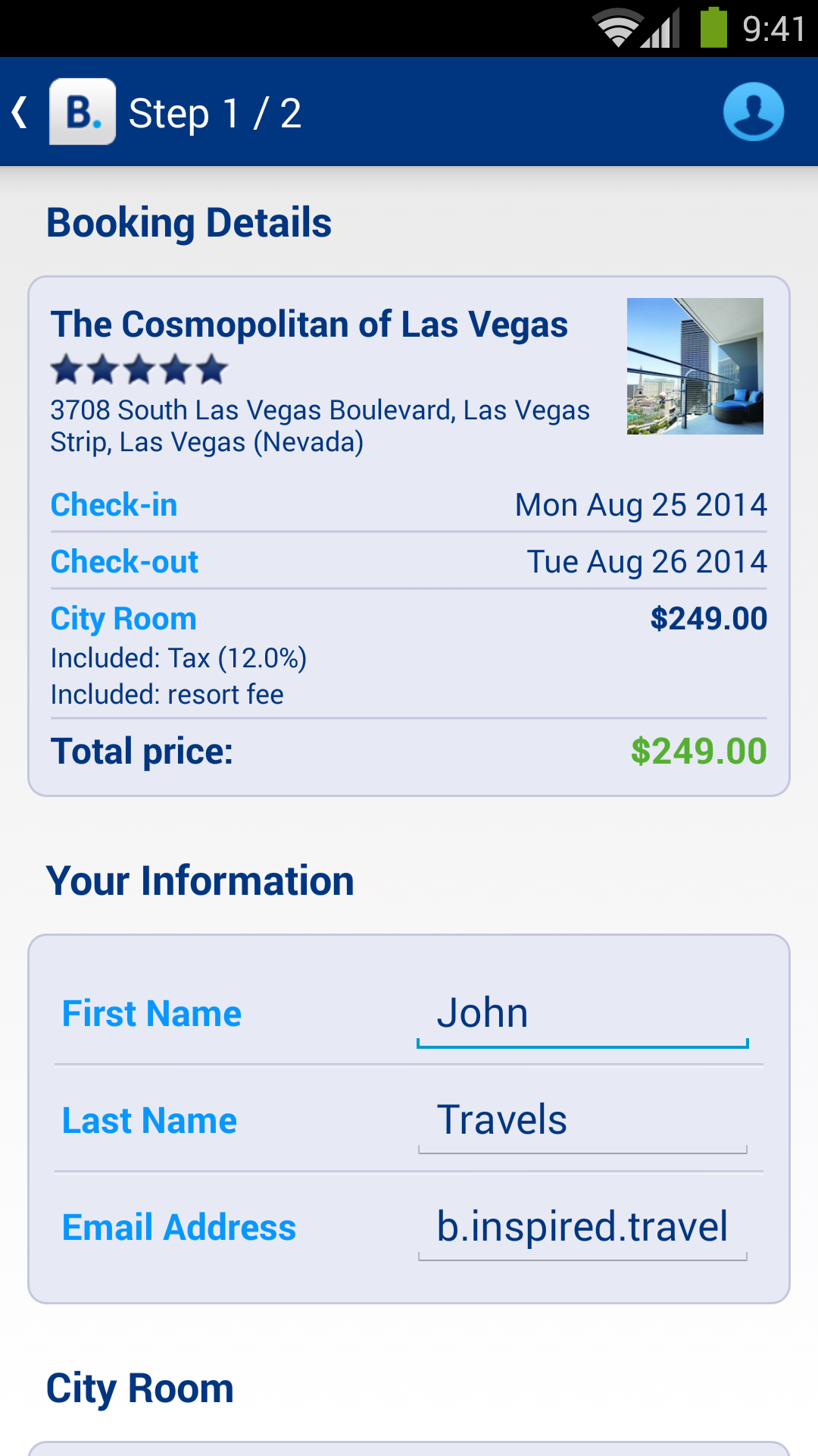 Hotel reservations appstore for Tablet hotel booking