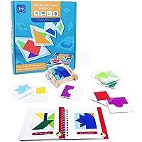 jerryvon Jouet Enfant Montessori Bébé Jeu de Plateau Puzzle Enfant de Couleur et de Forme Logique Jouets Enfants…
