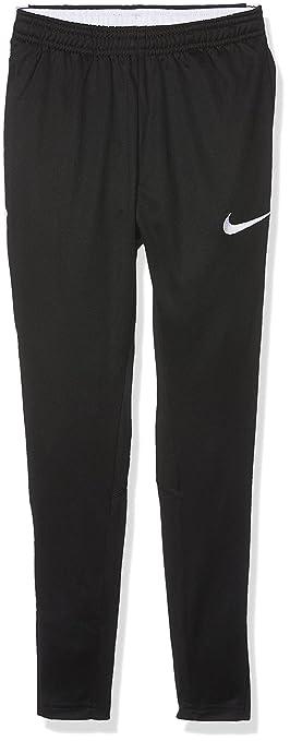 nike pants. nike kids dry academy pants, black/black/white/white, x- pants
