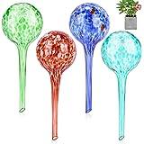 VicTop Glas Watering Globes voor Planten 4PSC Zelf Water Globes Plant Glazen Bollen 200ml Automatische Druppelaars Waterers D