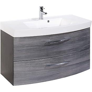 Waschtisch Badezimmermöbel Waschbecken Badezimmer Badmöbel Bad ...