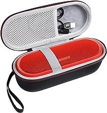 Shucase Hart Reise Schutz Hülle für Sony SRS-XB20/Sony SRS-XB10 Tragbarer, kabelloser Lautsprecher Schwarz (Sony xb 20 Tasche)