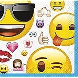 Unique Party 50602Ft Kunststoff Emoji-Tischdecke _ P