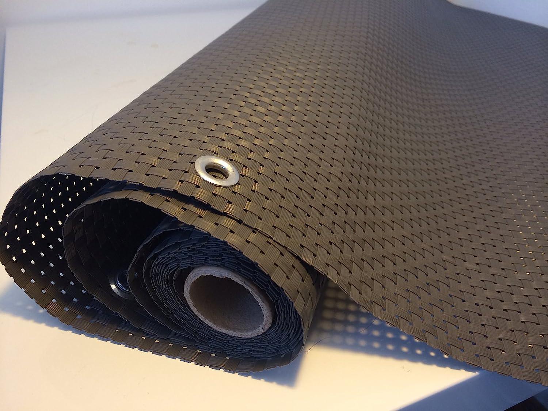 Smart Deko Polyrattan Sichtschutz 90x300cm
