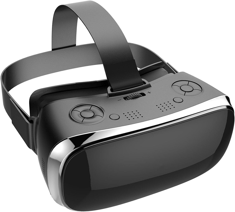 Osmose VR 2K Casque de réalité virtuelle tout-en-un. Visionnez vos films et jeux à 360° ou en 3D. Immersion plus prégnante qu'un smartphone à un budget inférieur à Oculus ou Vive. Mise à jour 2018