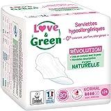 Love & Green handdoeken, hypoallergeen, normaal, 0%, 14-delig