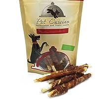 Pet Cuisine Friandise pour Chien,Peau de Buffle au Filet de Canard,100g