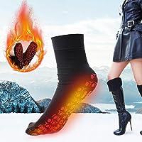 Self Heating Socks, Heated Socks, Men Women Μagnetic Therapy Socks, Comfortable Breathable Massage Warm Foot Socks for…
