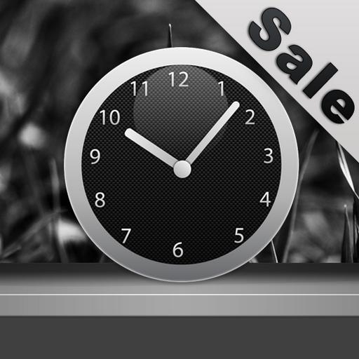 Carbon Clock Widget -