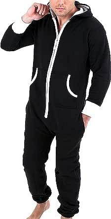 Juicy Trendz® Mens Onesie Adult Jumpsuit One Piece Pajamas Unisex Nightwear
