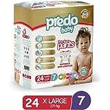 Predo Baby Premium Pants, X Large 17+kg, Size 7, 24 Pieces