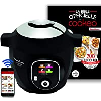 Moulinex Multicuiseur Intelligent Cookeo + Connect Via Application Bluetooth Multicuiseur + La bible officielle du…