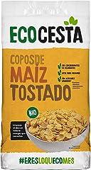 ECOCESTA Copos De Maíz Tostado Bio, 400 G