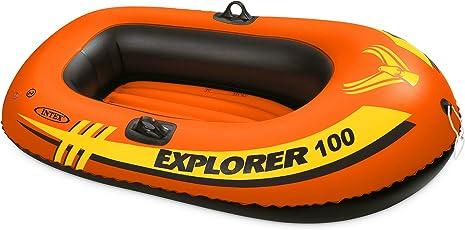 Maujaa Intex Explorer 100 Boat, 58x33x14 Inches (58329Np) Orange