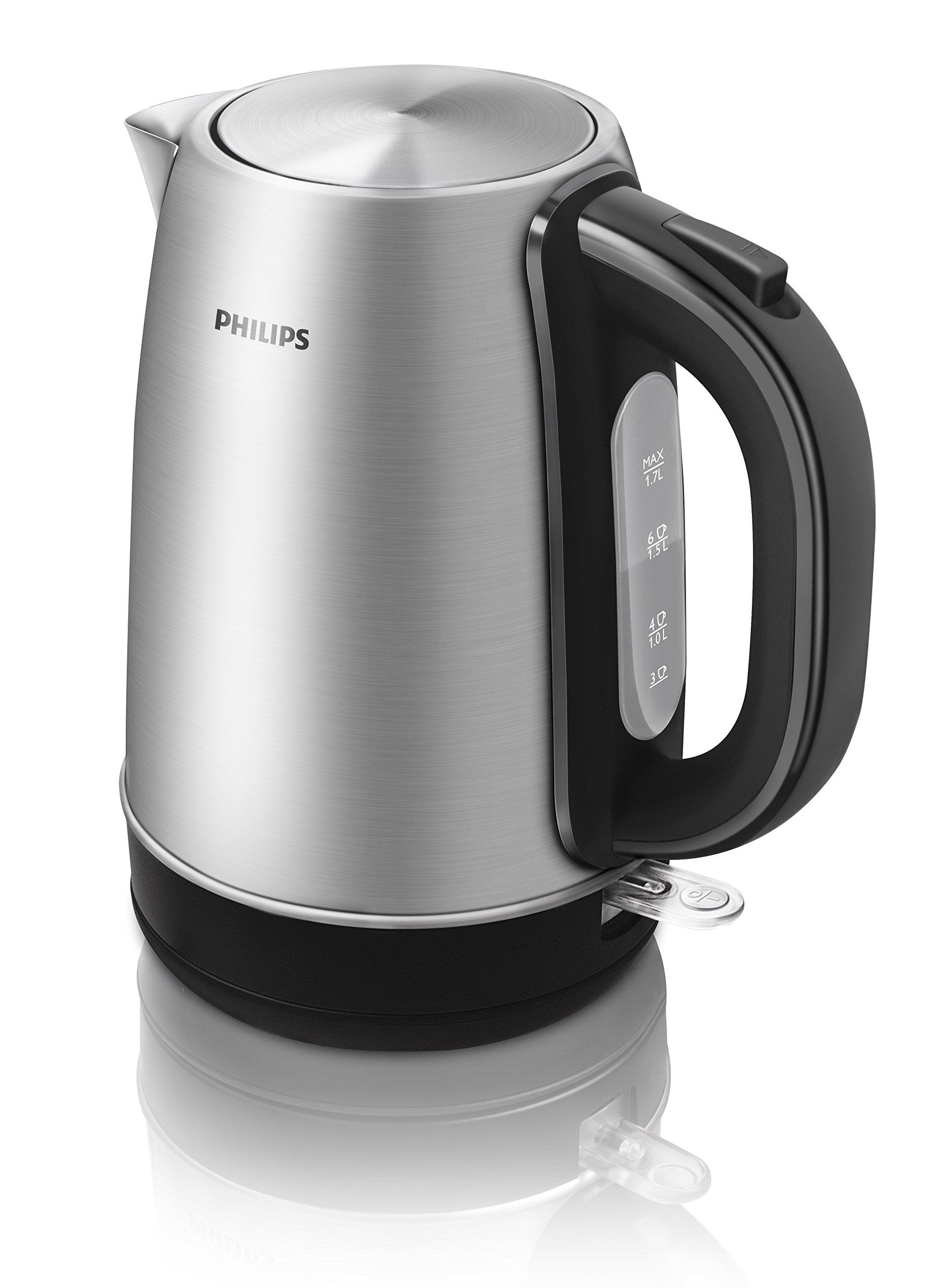 Philips-HD932120-Wasserkocher-aus-Edelstahl-17-L-2200-W-360-Grad-Pirouette-Silber