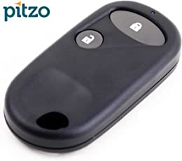 PITZO Replacement 2 Button Remote Car Key Shell/Case/Body for Centre Locking/Key Less Entry for Honda ZX