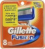 Ancienne version - Gillette Fusion Pack de 8 Recharges