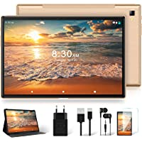 Tablet 10 Zoll mit 5G WiFi + Dual 4G LTE, Android 10 Original YESTEL T5 Ultraschnelles Tablets, 1920 * 1200 IPS | Face…