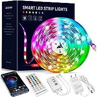 Beaeet Ruban Led 10M, Bande Led 5050 RGB , Led Ruban Lumineuse Flexible Multicolore avec Télécommande 40 Touches,Utilisé…