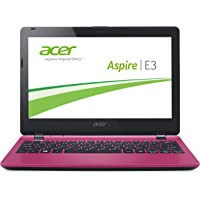 Acer Aspire E3-112-C2KP 29,5 cm (11,6 Zoll) Laptop (Intel Quad Core Prozessor N2840, 2,58GHz, 2GB RAM, 500GB HDD, Win 8.1) rosa
