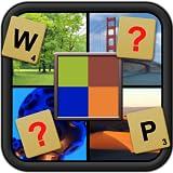 Was ist pixelig - Wort Bild erraten Neuanordnung puzzle Spiel und gefeierten Gehirn Entwickler für jedes Alter geeignet
