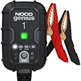 NOCO GENIUS1UK, 1-Amp Fully-Automatic Smart Charger, 6V And 12V Battery Charging Units, Battery Maintainer, Trickle…