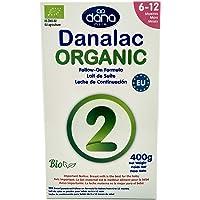 DANALAC Organic Latte in Polvere di Proseguimento 400 gr Fase 2 Latte Artificiale per Neonati e Lattanti 6-12 Mesi…