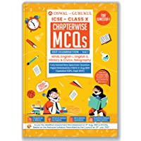 Chapterwise MCQs Book for ICSE Class 10 Semester I Exam 2021 : 2000+ New Pattern Questions (Hindi, English I, English II…