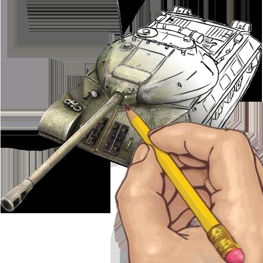 How to Draw: World War Tanks (Tank Hero-laser Wars)