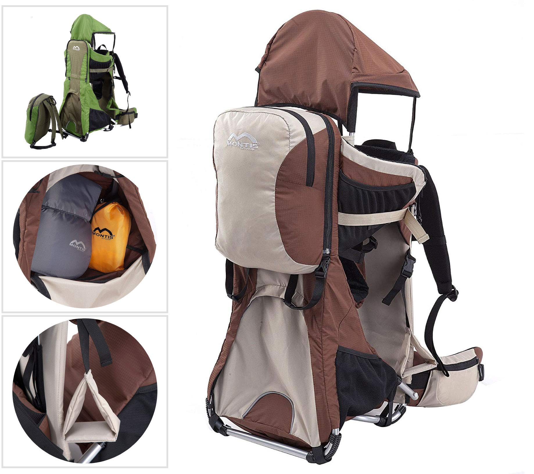 MONTIS RANGER PRO - Premium Backpack/Child Carrier - Holds up to 25kg M MONTIS OUTDOOR  1