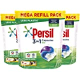 Persil 3 in 1 Bio stain removal first time Laundry Washing Capsules/ Tablet mega refill pack 150 Washes 9 month supply