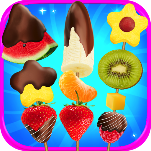 Chocolate Dipped Fruit Maker - Kids Candy Dipped Fruit Maker & Fruity Bouquet Games FREE Fruit Decorator