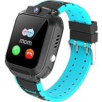 Smartwatch Bambini GPS,Smartwatch Impermeabile per Ragazzi Ragazze, Orologio Intelligente Telefono con GPS Locator Chat…