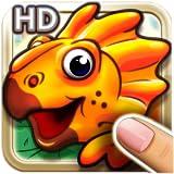 Dinosaurios caminando juntos gratis HD puzzles para niños con dinosaurios coloridos y animales prehistóricos