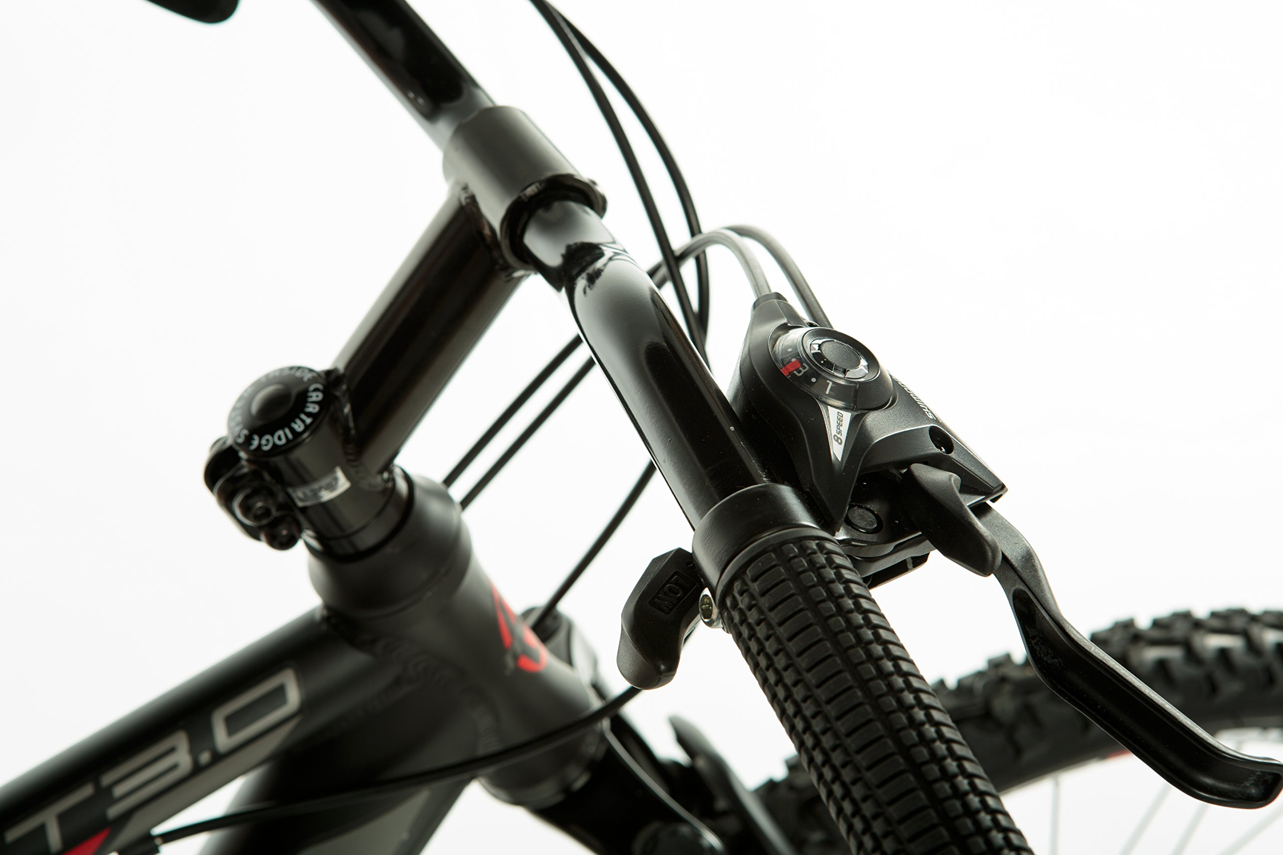 """Moma bikes, Bicicletta Mountainbike 26"""" BTT SHIMANO, doppio disco e doppia sospensione"""