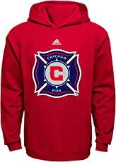 MLS Los Angeles Galaxy Boys 8-20 Primary Logo Fleece Hoodie