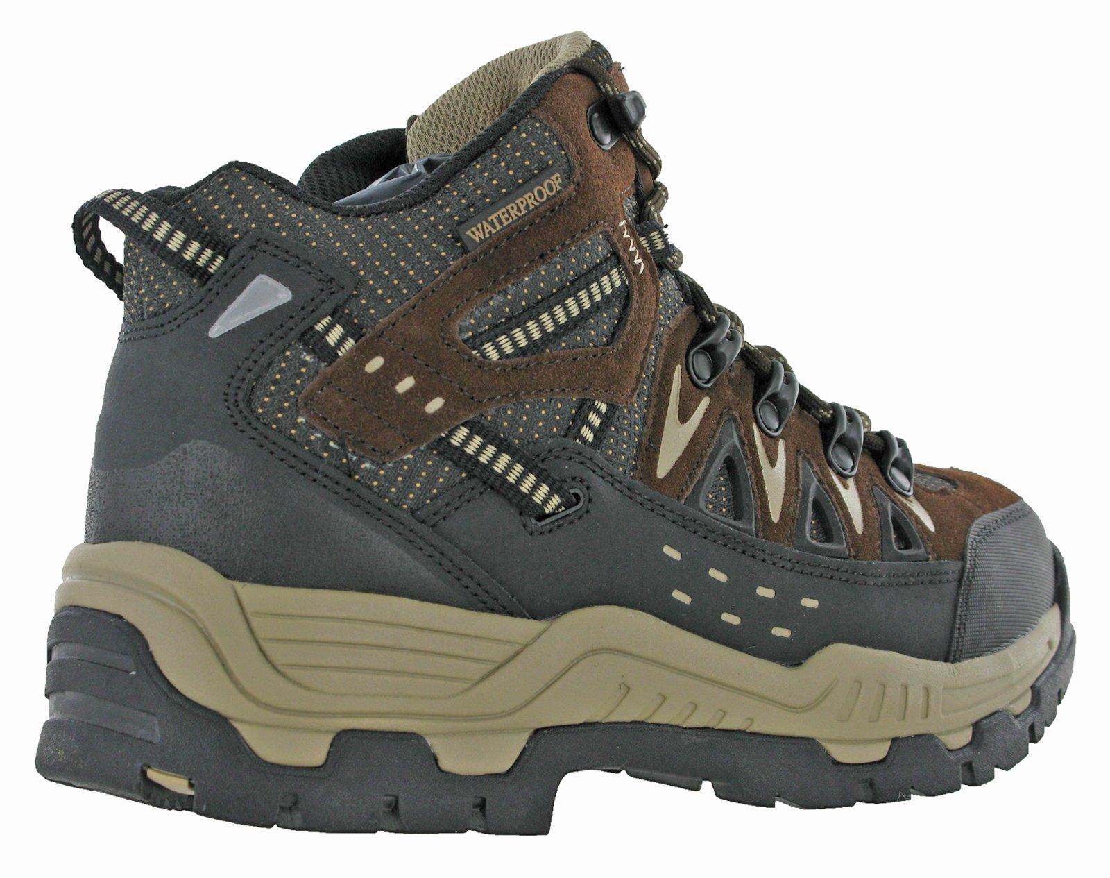 Northwest Mens Piers Hi Cut Brown/Beige Ankle Walking Boots 6