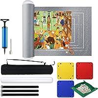 EXTSUD Tapis de Rangement pour Puzzle jusqu'à 3000 Pièces, Tapis de Rouleau de Puzzle en Feutre Portable, Accessoire…