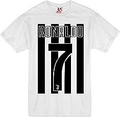 36FAHRENHEIT Unisex Cristiano Ronaldo CR7 Juventus Cotton T-Shirt