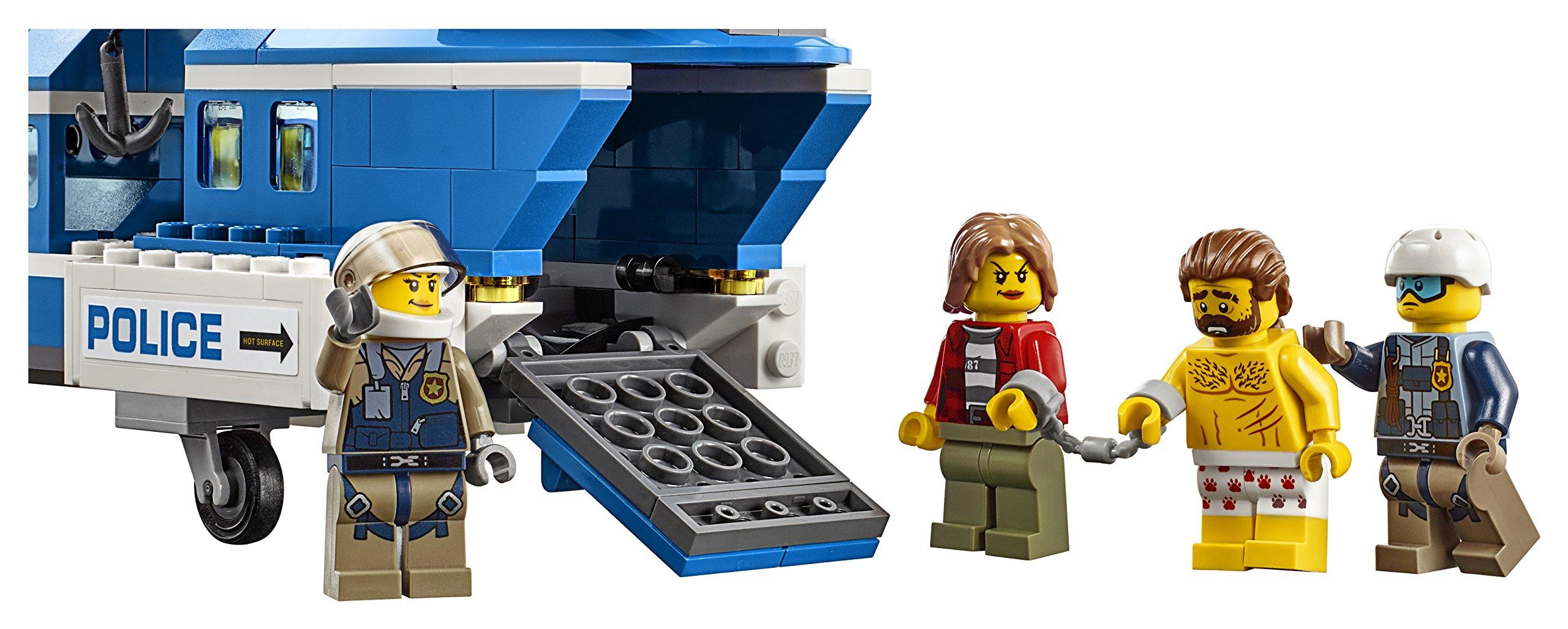 LEGO- City PoliceArresto in Montagna, Multicolore, 60173 5 spesavip