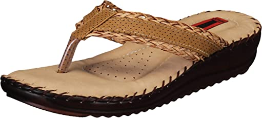 1 WALK Comfortable DR Sole Women-Flats/Fashion Sandals/Fancy Home and Party Wear/Fashion Slippers/Casual Footwear/Dr Plus/MP-DRN5020(A,B)-$P