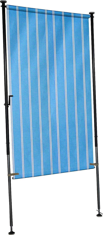 Amazon Angerer Balkon Sichtschutz Nr 9400 blau 120 cm breit