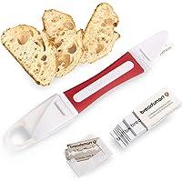 Breadsmart Lame - Outil de marquage de pâte à Pain - Jeu de 10 Lames en Acier Inoxydable - Mesureur de pâte des…