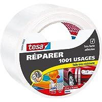 Tesa 56494-00002-00 Réparer 1001 Usages Toile Très Résistante 25 m x 50 mm Blanc