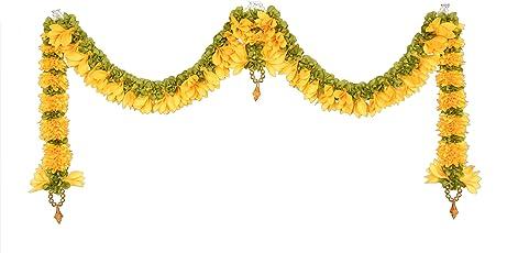 Daedal Crafters- Champa Door Set(Golden Yellow) DC129