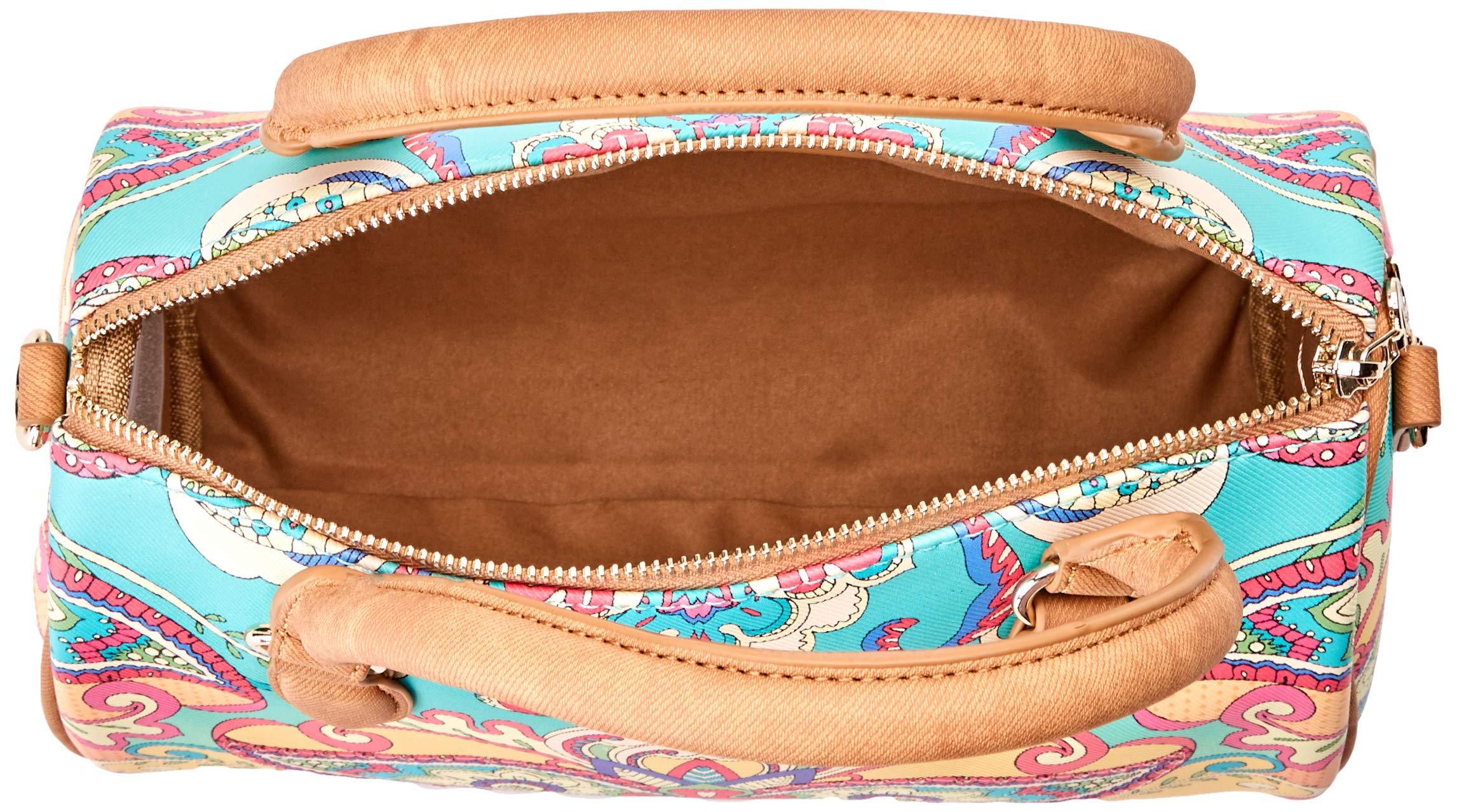 Desigual Bag Grand Valkiria Bowling Med Women - Borsette da polso Donna, Arancione (Coral), 13.7x18x27 cm (B x H T) 5 spesavip
