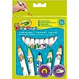 Crayola Mini Kids - Loisir Créatif - 8 Maxi Crayons De Couleur