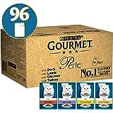 Purina Gourmet Perle de Wet pour chat, Mini filets en Sauce96 pochettes X 85g