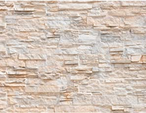 Fototapeten Steinwand 3D Effekt 352 X 250 Cm Vlies Wand Tapete Wohnzimmer  Schlafzimmer Büro Flur Dekoration